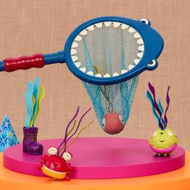 美國 B.Toys 海底世界 鯊網揮揮