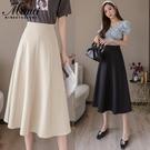 夏裝百摺半身裙子女裝春裝2021年新款仙女超仙設計感小眾長裙長款 貝芙莉