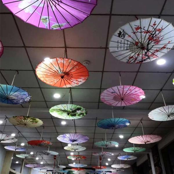 中國風油紙傘吊頂裝飾走秀傘