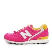 New Balance WR996 [WR996CM] 女鞋 休閒 經典 運動 粉紅 黃 總統