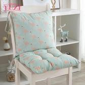 坐墊連身抱枕靠墊靠枕加厚椅墊學生餐椅墊子座墊椅墊坐墊靠墊一體 YDL