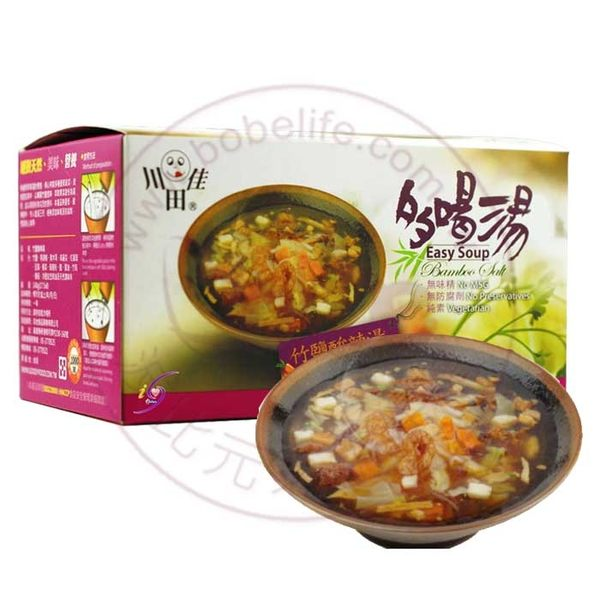 多喝湯韓式竹鹽酸辣湯(每盒內含8份隨身包) – 高地川田佳
