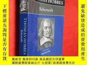 二手書博民逛書店Thomas罕見Hobbes: Behemoth (小16開)