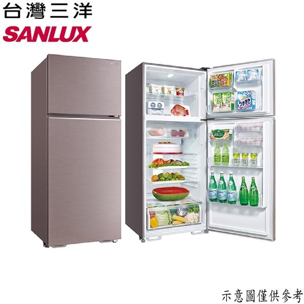 【SANLUX台灣三洋】480公升 雙門電冰箱 SR-C480B1B