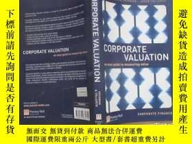 二手書博民逛書店Corporate罕見Valuation:An Easy Gui