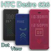 【原廠皮套、聯強貨】HTC Desire 626 D626x/Desire 626G+ D626Q 炫彩顯示/側掀保護套/側開殼 Dot View HC M180