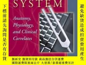 二手書博民逛書店The罕見Auditory System: Anatomy Physiology And Clinical Cor