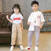 兒童防蚊褲女童燈籠褲男童褲夏季薄款童裝新款夏裝寶寶長褲子  9號潮人館