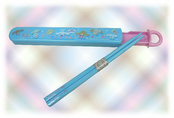 【波克貓哈日網】隨身筷組衛生筷◇喜拿狗圖案◇《Cinnamoroll》~~免運費