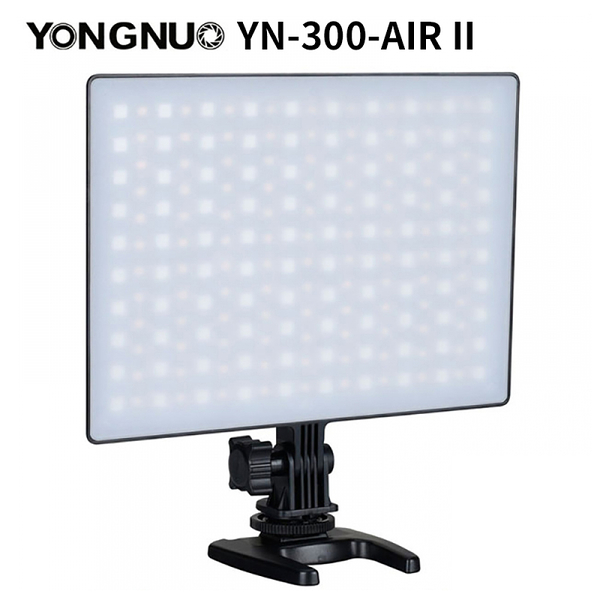 【EC數位】YONGNUO 永諾 YN-300-AIR II 機頂柔光LED持續燈 RGB色燈 可調色溫 內附遙控器