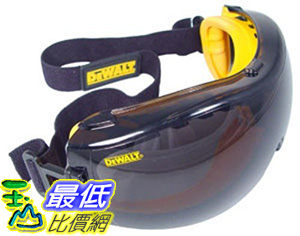 [美國直購 ShopUSA] Dewalt DPG82-21C Concealer Smoke 通風防霧雙膜護目鏡 安全眼鏡 耐衝擊
