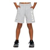Asics [2034A310-022] 大童 運動 短褲 亞洲版 棉質 舒適 日常 休閒 穿搭 亞瑟士 灰白