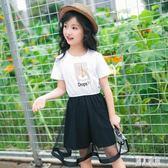 女童洋裝 2019新款夏裝韓版時尚女孩中大童連身裙 時尚洋氣兒童裙子 CJ4926『麗人雅苑』