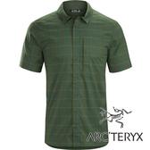 【Arc'teryx 始祖鳥】男 Riel抗UV短袖襯衫『綠藍格紋』L07204600 吸濕 快乾 排汗衣 襯衫 登山健行