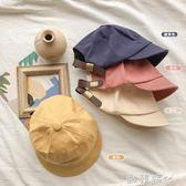 兒童帽子童裝春男童鴨舌帽日系時尚可愛帽寶寶百搭棒球帽 ◣歐韓時代◥
