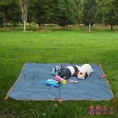 戶外野餐墊 加厚防水野炊地墊四季草坪露營野餐布墊子便攜防潮墊 QX15839 【花貓女王】