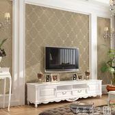 現代簡約無紡布牆紙歐式菱形軟包客廳臥室3d個性電視背景牆壁紙igo   良品鋪子