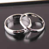 戒指仲夏之晶素圈光板光面情侶男女 光圈食指環對戒 簡約正韓飾品 全館免運折上折