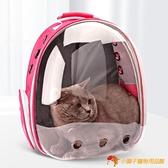 貓咪外出後背包狗狗便攜包太空艙透明書包寵物【小獅子】