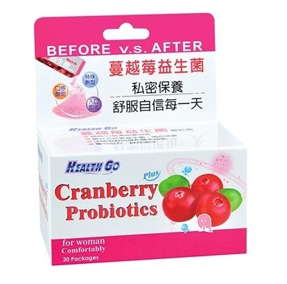 『買六送一』蔓越莓益生菌顆粒劑(30包/盒) 法國專利 精純50倍濃縮蔓越莓