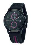 【Maserati 瑪莎拉蒂】/兩眼橡膠錶(男錶 女錶 手錶 Watch)/R8871618005/台灣總代理原廠公司貨兩年保固