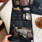 韓國懶人化妝品包女便攜大容量小號洗漱刷網紅收納旅行ins風超火 自由角落
