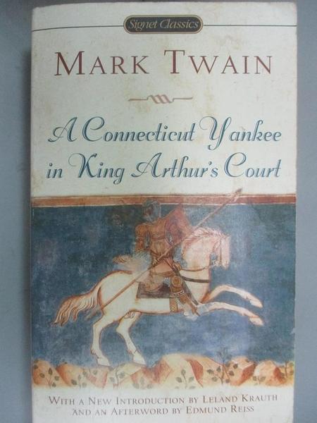 【書寶二手書T4/原文小說_IAN】A Connecticut Yankee in King Arthur's Cour