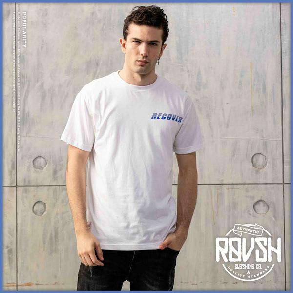 【Roush】 RECOVER特殊反光漆短TEE -【2010171】