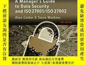二手書博民逛書店It罕見Governance: A Manager s Guide To Data Security And Is