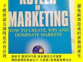 二手書博民逛書店Kotler罕見on Marketing(科特勒論營銷 英文原版