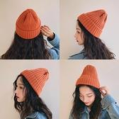 針織毛線帽子女秋冬季韓版百搭日系冬天甜美可愛潮韓國ins男冷帽