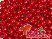 6M/M仿珍珠-紅色半磅