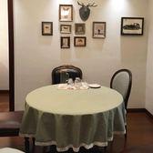 時尚可愛空間餐桌布 茶几布 隔熱墊 鍋墊 杯墊 餐桌巾 638 (直徑100cm)