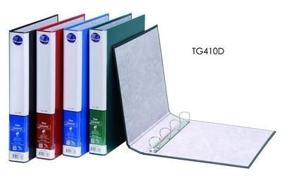 同春 環保PP合成紙美式D型4孔夾 12個/箱 TG410D