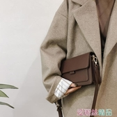 小方包高級感包包女秋冬潮時尚復古小方包百搭大氣側背包斜背包交換禮物