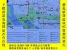 二手書博民逛書店National罕見Mall Walking Map美國國家廣場徒步地圖(英文版,雙面內容)Y358478