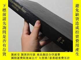 二手書博民逛書店Telecommunications罕見Journal1984年
