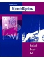 二手書博民逛書店 《Differential Equations, Preliminary Edition》 R2Y ISBN:0534950043│PaulBlanchard