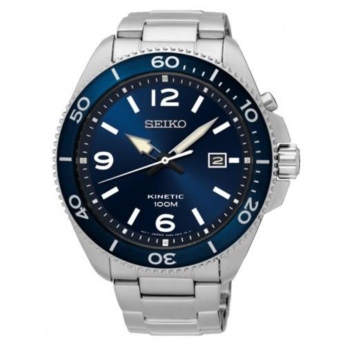 SEIKO 飆風戰士人工動能簡約男腕錶/5M82-0AY0B(SKA745P1)