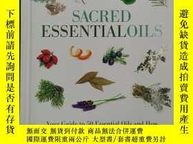 二手書博民逛書店Sacred罕見Essential Oils your guid