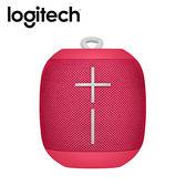 【Logitech 羅技】UE Wonderboom 防水無線藍牙喇叭 Freestyle 系列-覆盆子紅