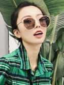 青陌大框偏光太陽鏡女韓版圓臉黑超墨鏡新款駕駛開車太陽眼鏡☌zakka