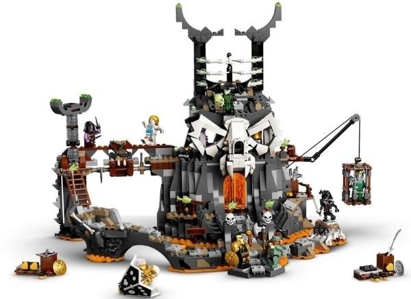 【LEGO樂高】NINJAGO 骷顱頭巫師地牢   #71722