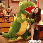 玩偶 霸王龍恐龍毛絨玩具公仔可愛大玩偶娃娃睡覺抱枕女孩超萌韓國懶人 新品