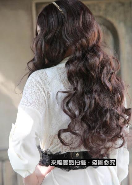 ★草魚妹★W30假髮中分假髮美色大波浪中長髮假髮附實拍,售價420元