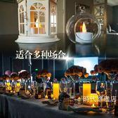 (交換禮物)電子蠟燭仿真充電led電子蠟燭燈浪漫生日求婚家居婚慶裝飾KTV酒吧供佛插電