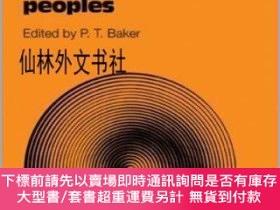 二手書博民逛書店【罕見】 The Biology of High-Altitude PeoplesY27248 P. T. B