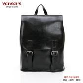 【南紡購物中心】【vensers】小牛皮潮流個性多功能包(NL1075702黑色)