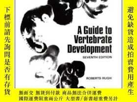 二手書博民逛書店Guide罕見To Vertebrate Development