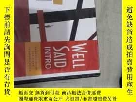 二手書博民逛書店WELL罕見SAIDY278641 出版2007